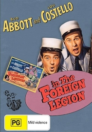 Abbott And Costello In The Foreign Legion on DVD
