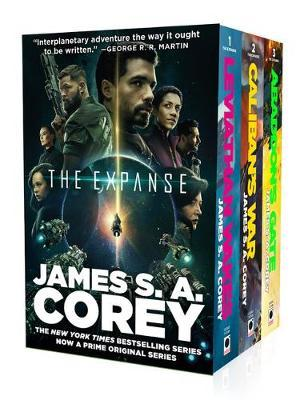 The Expanse Hardcover Boxed Set: Leviathan Wakes, Caliban's War, Abaddon's Gate by James S A Corey