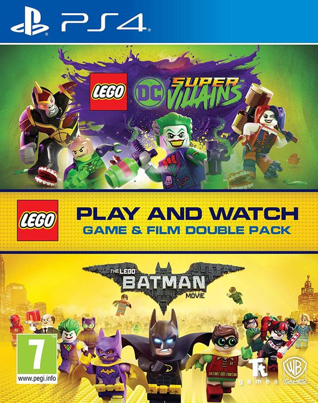 Lego DC Super-Villains Game & Film Double Pack for PS4