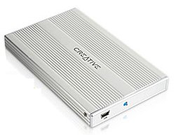 Creative Yion Portable Hard Disk Drive 20GB 5400rpm 2048KB Cache External USB 2 image