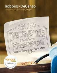 Fundamentals of Management by Stephen P Robbins image