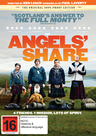 The Angels' Share on DVD