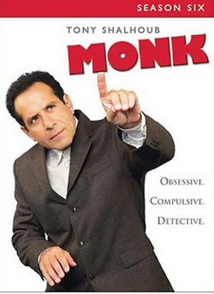 Monk - Season 6 on DVD