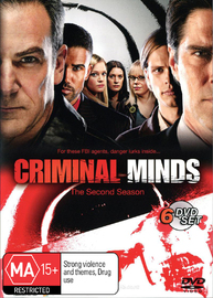 Criminal Minds - Season 2 (6 Disc Box Set) on DVD