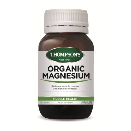 Thompsons Organic Magnesium (120 Tablets)