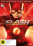 The Flash - Season 3 on DVD