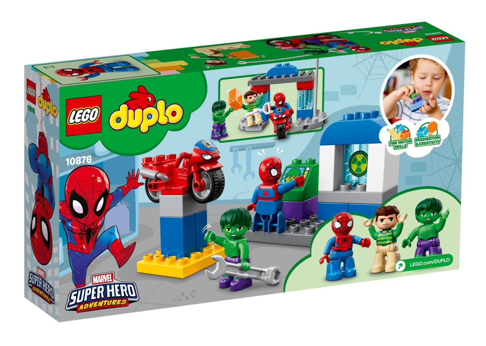 LEGO DUPLO: Spider-Man & Hulk Adventures (10876) image