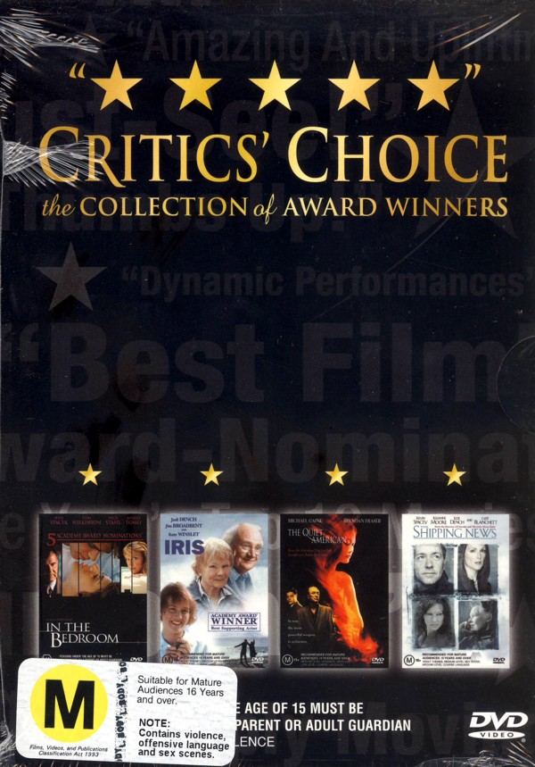 Critics Choice on DVD image