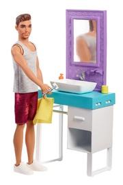 Barbie: Ken's Bathroom - Doll Playset