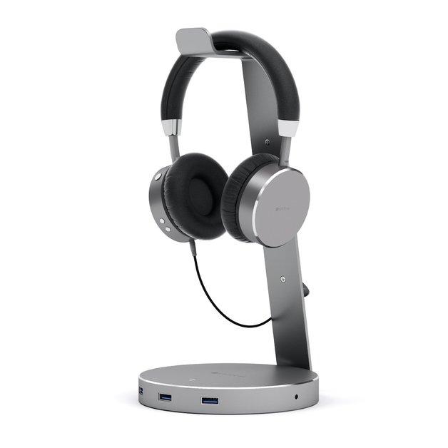 Satechi: USB Aluminum Headphone Stand - Space Grey