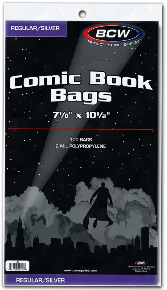 BCW: Comic Book Bags - (Silver/Regular) image