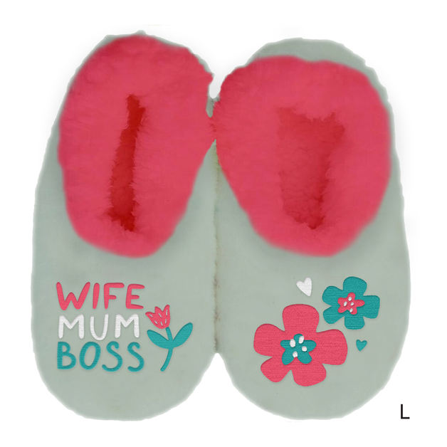 Sploshies: Mother's Day Duo Slippers - Wife (Large)