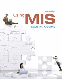 Using MIS by David M. Kroenke image