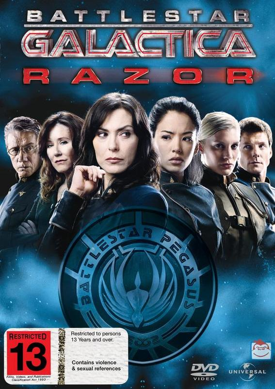 Battlestar Galactica - Razor on DVD