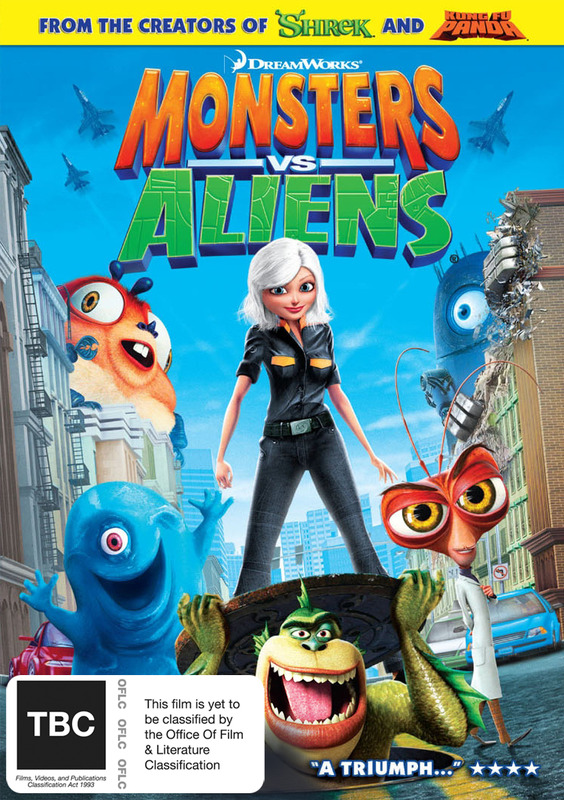 Monsters vs Aliens / B.O.B.'s Big Break in Monster 3D - Ginormous Double Pack (2 Disc Set) on DVD
