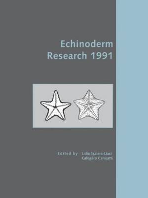 Echinoderm Research 1991 by L. Scalera-Liaci