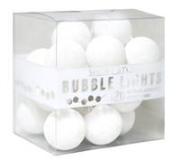 Cotton Ball String LED Lights - White