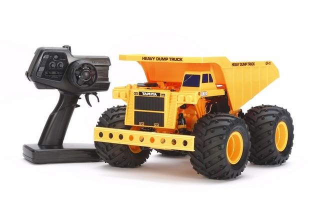 Tamiya 1:24 RTR Heavy Dump Truck - GF-01