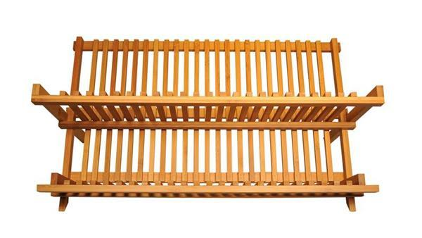 Bamboo Dish Rack - Large