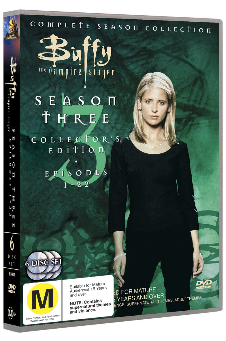 Buffy - The Vampire Slayer: Season 3 (6 Disc Set) on DVD image