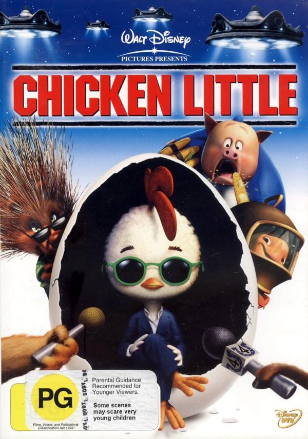 Chicken Little on DVD image