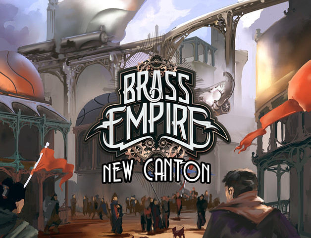 Brass Empire: New Canton - Game Expansion