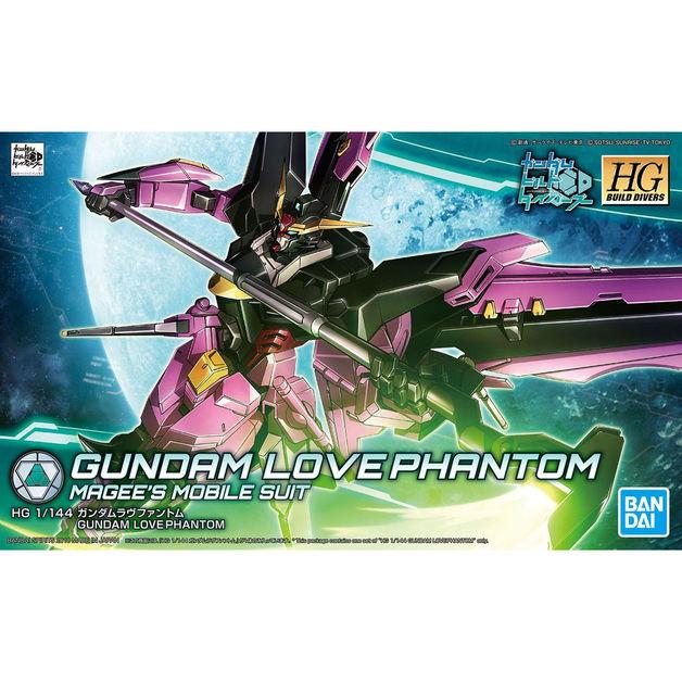 HGBD 1/144 Gundam Love Phantom Model Kit