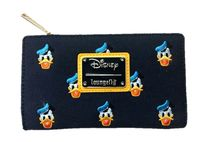 Loungefly: Mickey Mouse - Donald Head Print Flap Wallet