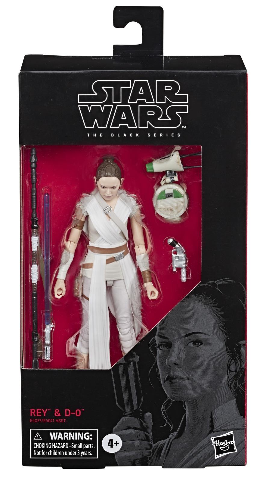 "Star Wars The Black Series: Rey & D-0 - 6"" Action Figure image"