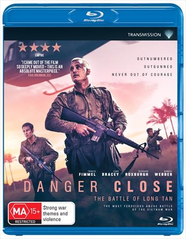 Danger Close: The Battle of Long Tan on Blu-ray