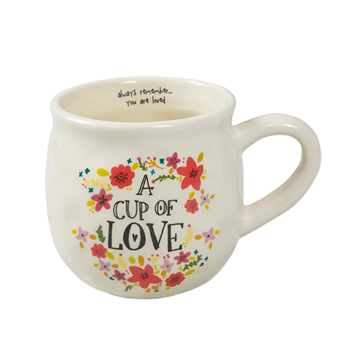 Natural Life: Happy Mug - Cup Of Love