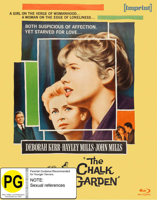 The Chalk Garden (Imprint Collection #43) on Blu-ray