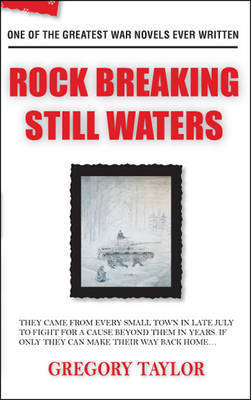 Rock Breaking Still Waters by Gregory Taylor