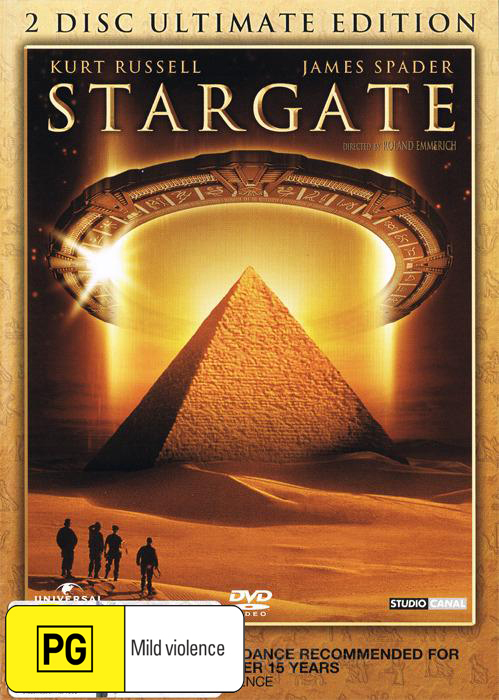Stargate Ultimate Edition on DVD image