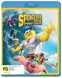 Spongebob Squarepants: Sponge Out Of Water on Blu-ray