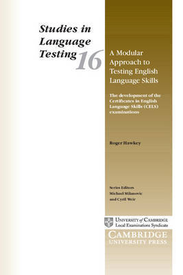 A Modular Approach to Testing English Language Skills by Roger A. Hawkey image