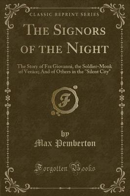 The Signors of the Night by Max Pemberton image