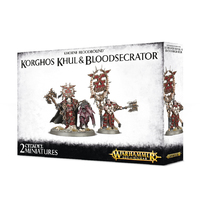 Warhammer Age of Sigmar: Korghos Khul and Bloodsecrator