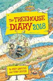 The 91 Storey Treehouse Diary 2018 by Andy Griffiths