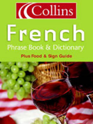 Collins French Phrase Book and Dictionary image