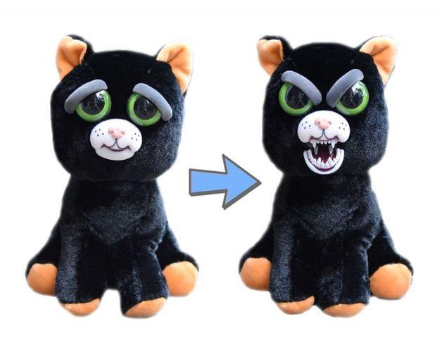 Feisty Pets: Caty Cobweb - Transforming Cat Plush