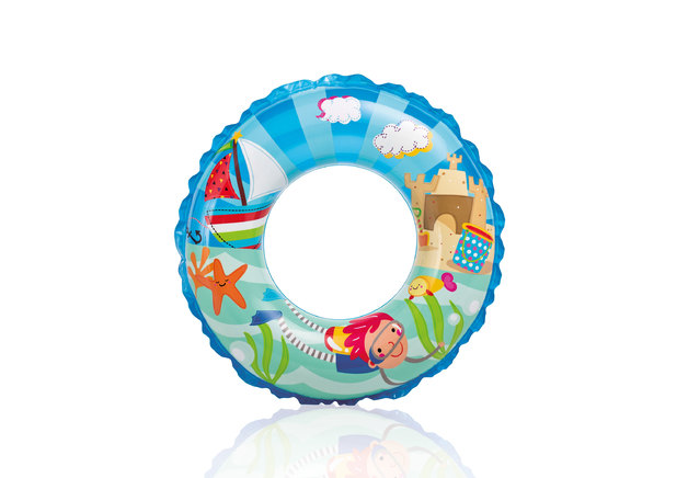 Intex: Transparent Rings (61cm)
