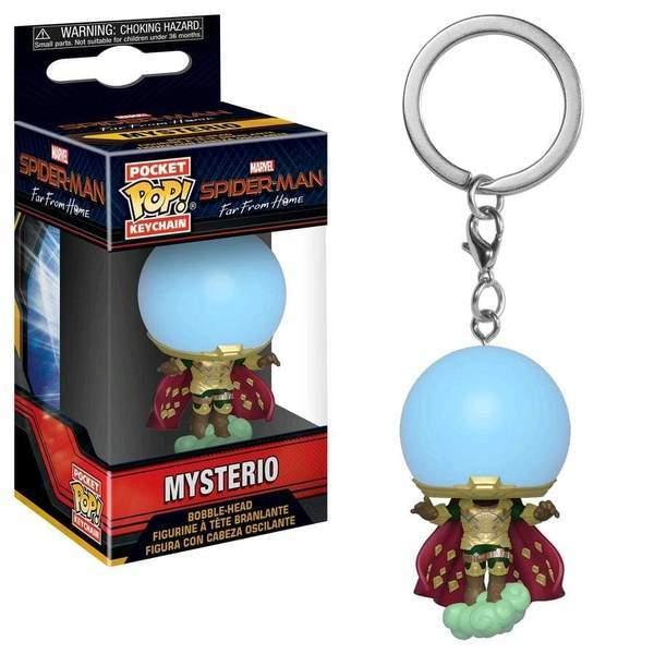 SpiderMan: FFH - Mysterio Pop! Keychain