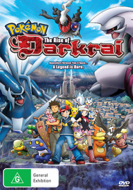 Pokemon - Movie 10: The Rise of Darkrai on DVD