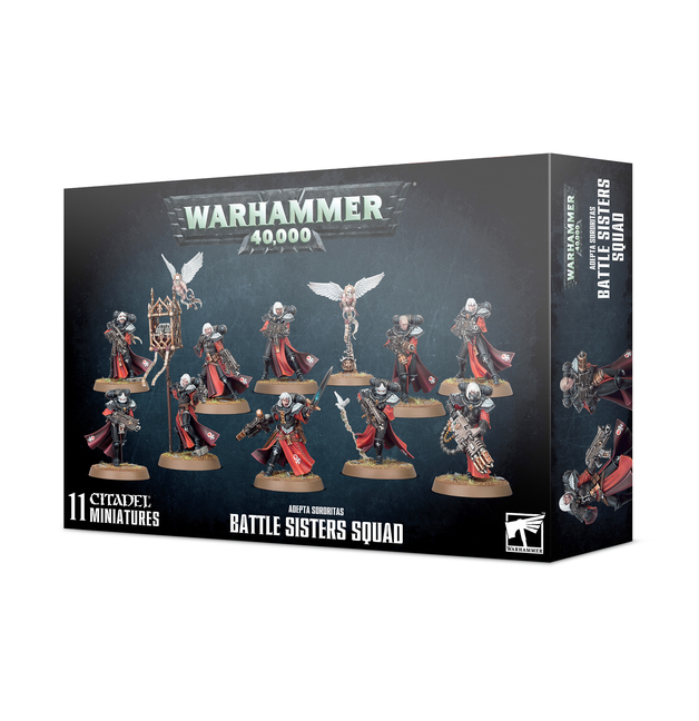 Warhammer 40,000: Adepta Sororitas Battle Sisters Squad