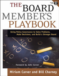 The Board Member's Playbook by Miriam Carver image