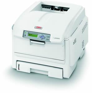 Oki C5900n Colour LED 32ppm 256Mb 1200x600 Dpi Colour Laser Printer Networkable image