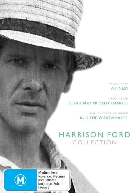 Harrison Ford Collection (Witness / Clear And Present Danger / K-19) (3 Disc Box Set) on DVD image