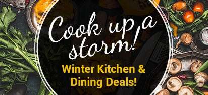 Winter Kitchen & Dining Sale!
