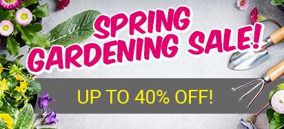 Spring Gardening Sale!
